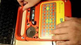 Circuit Bent Speak and Spell
