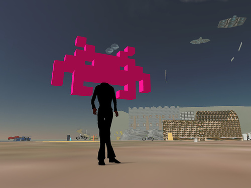Second Life Invader -- yhancik