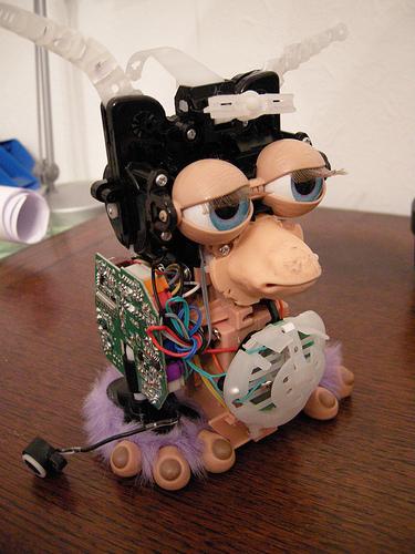 Circuit Bending a Furby --Nikki Pugh
