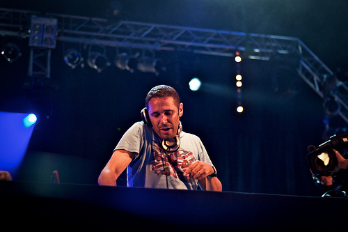 DJ Zebra @ Terres Blanches  -- Mégane Helders