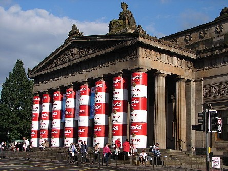 Warhol Soup Cans at the Royal Scottish Academy, image © SixSigma / Wikimedia Commons