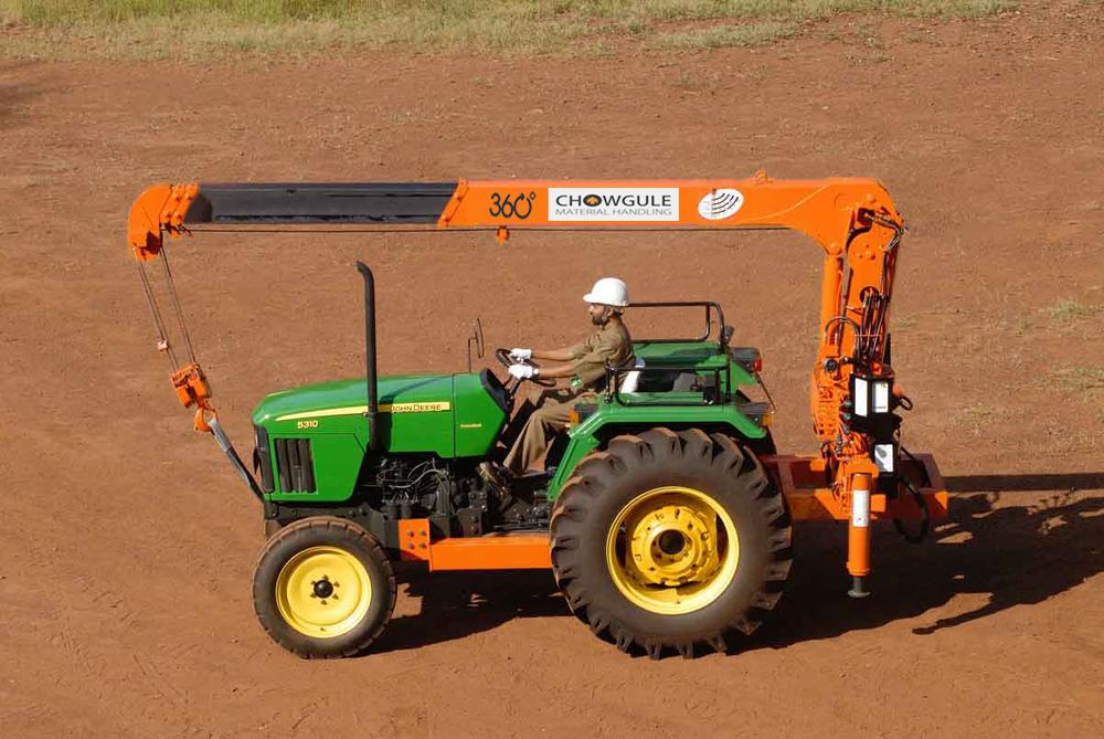 Tractor Crane Chowgule Material Handling
