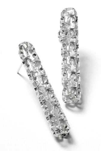 E4 Holden, Sarah sterling silver ruffle stick earrings.jpg
