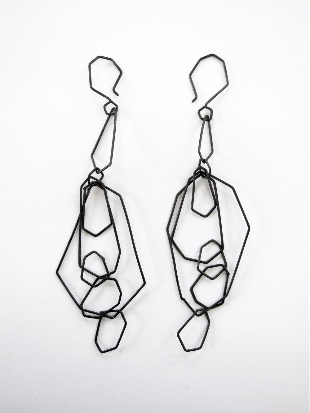 EE11 Mess, Kate oxidized silver faceted chain earrings.jpg