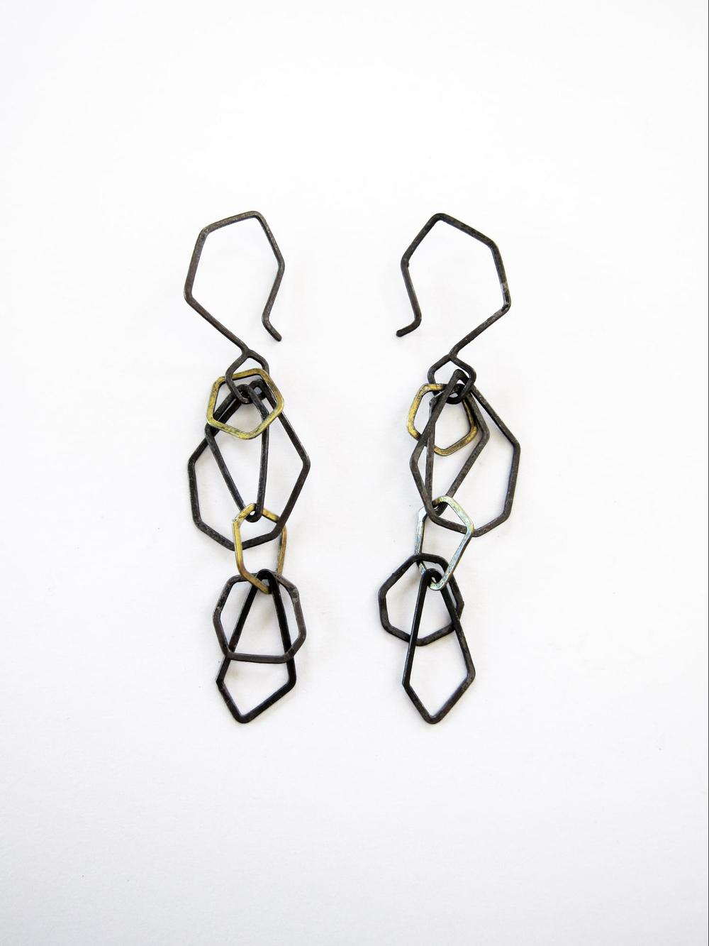 EE14 Mess, Kate oxidized silver and brass faceted chain .jpg