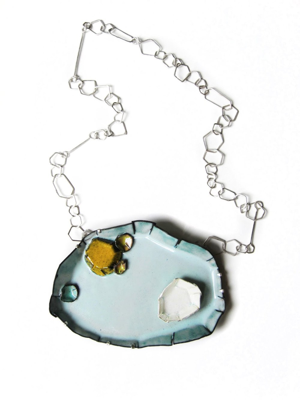 N1 Mess, K.: Barnacle No. 21, Large Light Blue_Necklace_2012.jpg