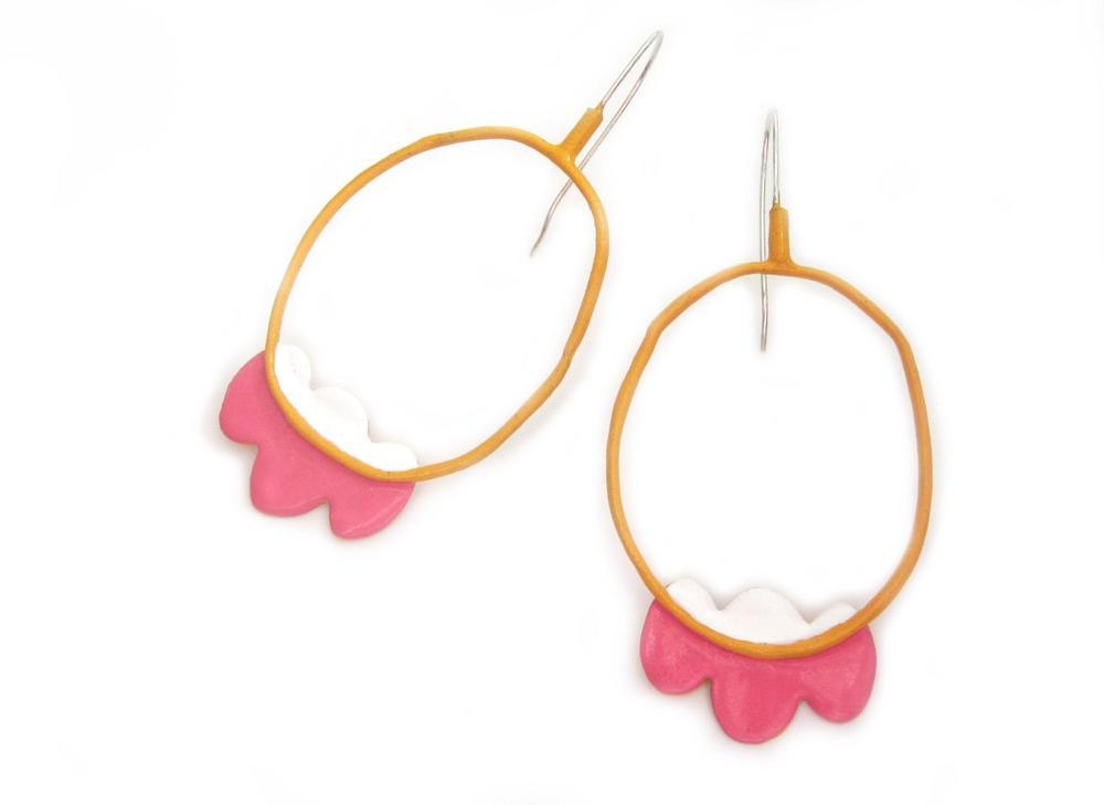E7 Mulcahey, Emilie large orange hoop with pink & white ruffles at bottom.jpg