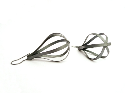 E5 Owens, Sara teardrop shape, strips of oxidized silver .jpg