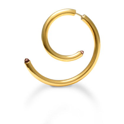 E4 Perluck, Lucia (LPPDE3-GF) gold filled tubing in spiral with peridot at each end.jpg