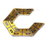 E2 Perrone, Louise blue & gold silk from a necktie, styrene, thread & silver.jpg