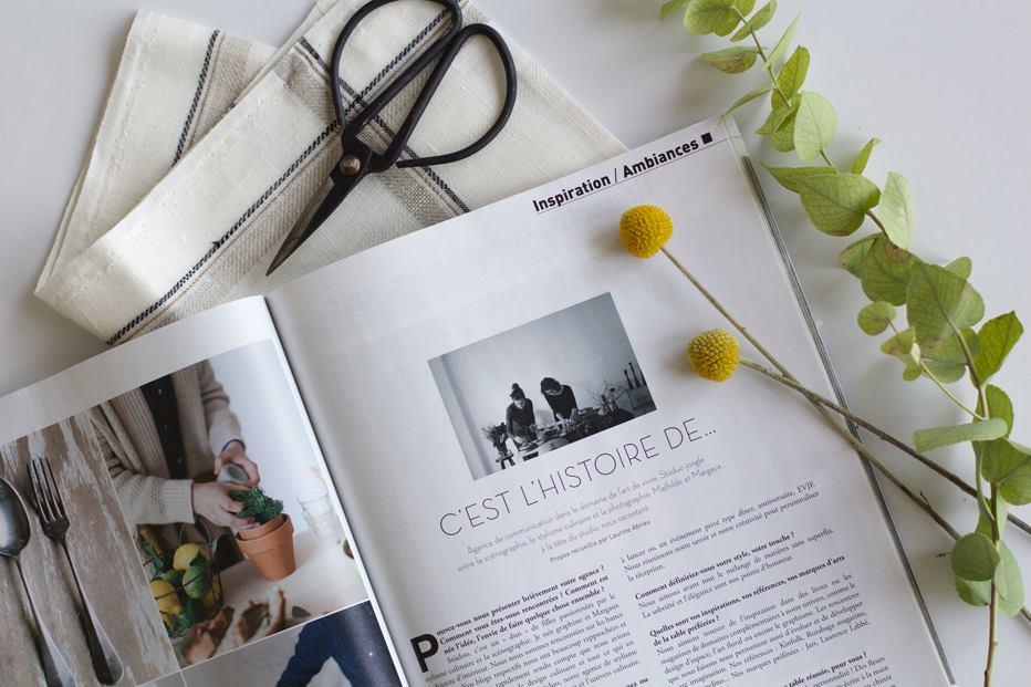 HOME CUISINE & BAIN - Article sur le collectif Studüo dans l'appartement MARIN