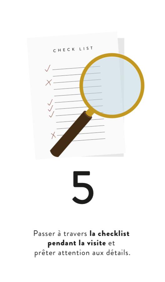 5. CHECK LIST PENDANT LES VISITES (Cliquez &Imprimez)