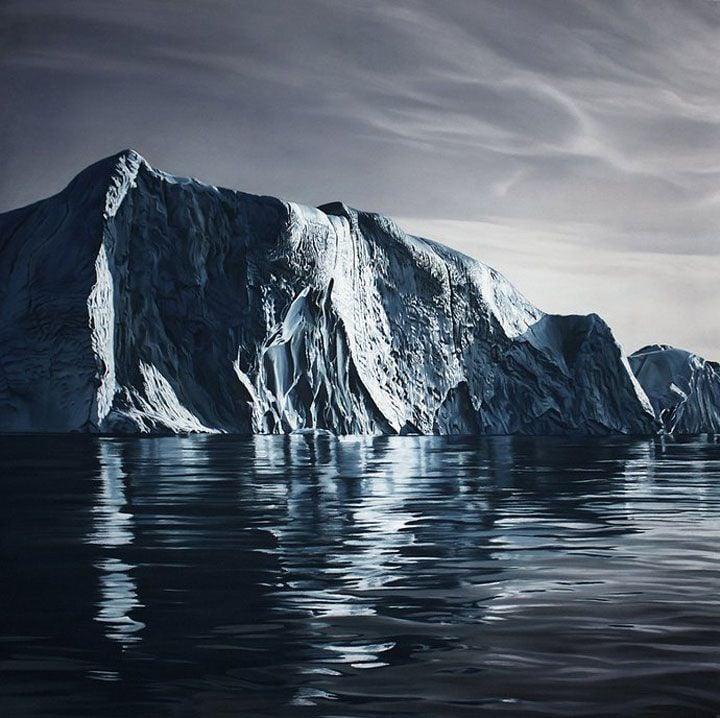 Zaria Forman - Greenland 2012