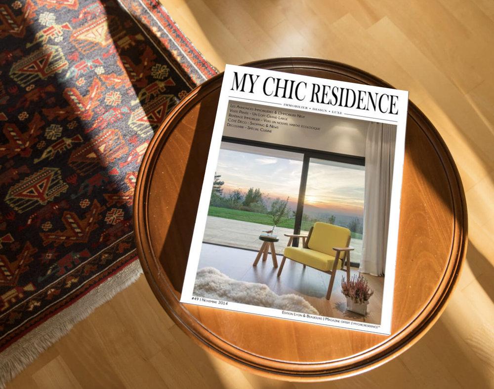 MY CHIC RÉSIDENCE - Page de couverture pour la maison VASATI