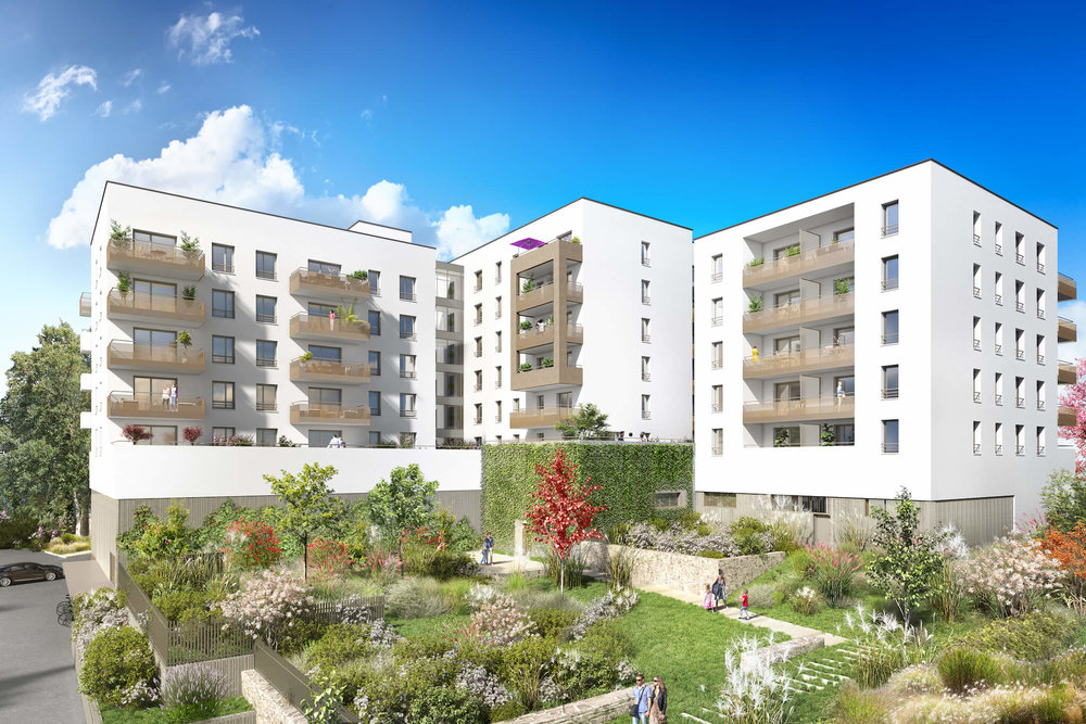 INOUI - SAINT-RAMBERT RUE ALBERT FALSAN, 69009 Appartements du T2 au T3 à partir de 178.900€ FAI