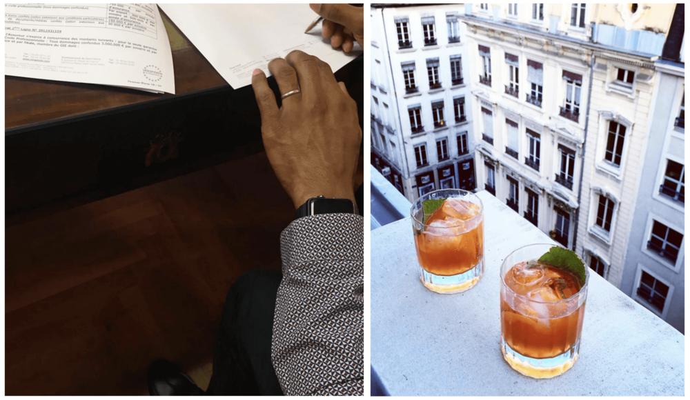 Une signature → un cocktail pour fêter ça!