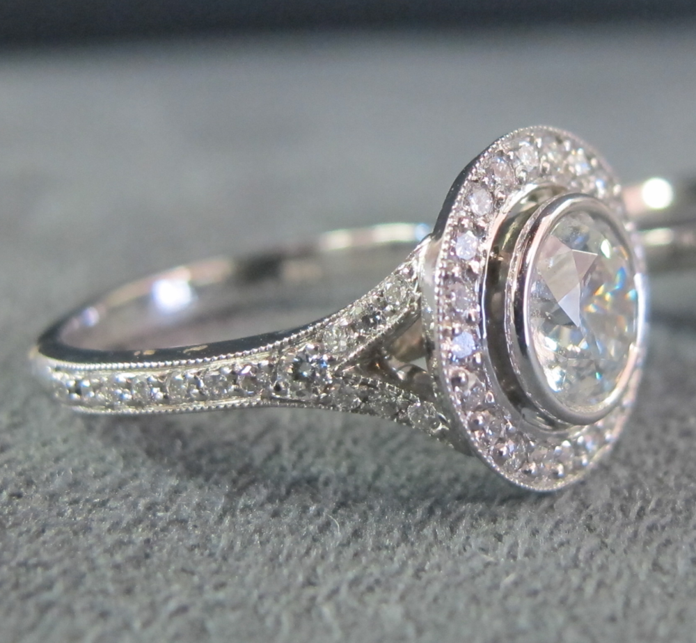 New Vintage Look Engagement Ring Style