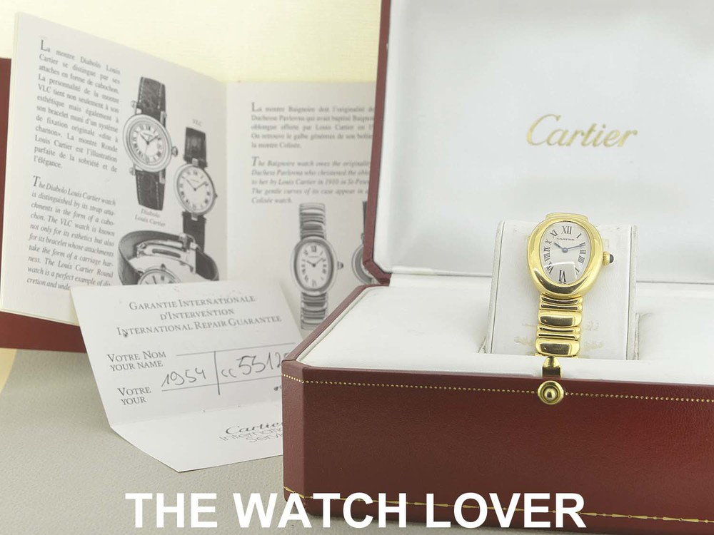 cartier baignoire full gold thewatchlover exclusive modern and vintage watches in sydney. Black Bedroom Furniture Sets. Home Design Ideas
