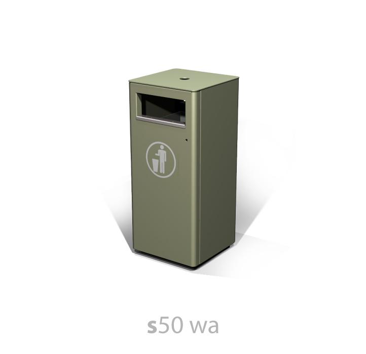 s50 wa litter bin