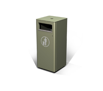 S50wa Omos Street Furniture Suppliers Litter Bins