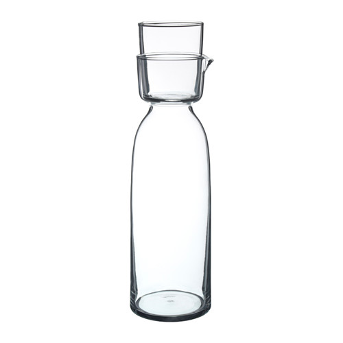 Viktigt Carafe with glass - $14.99
