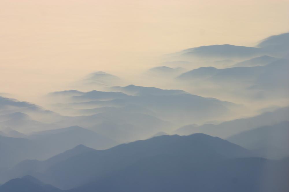 source:  http://commons.wikimedia.org/wiki/File:Southern_California_Coastal_Range_in_Mist.jpg