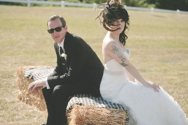 Half sleeves & fascinators - Letterpress Wedding Stationery. Featured in Seattle Met Bride & GroomMagazine,Green Wedding Shoesand Simply Seattle Weddings.
