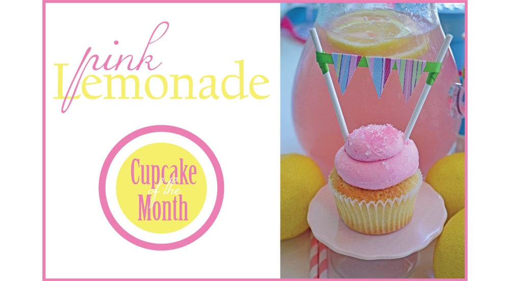 Bake Sale Pink Lemonade Cupcake of the Month Twitter Blog.jpg
