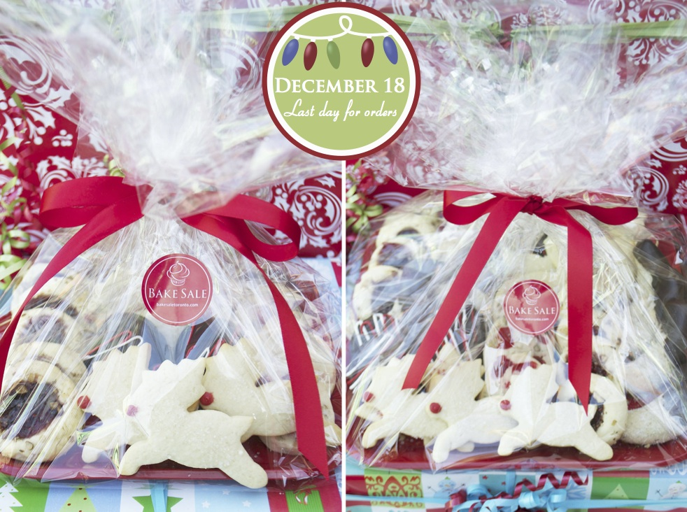 Christmas Cookie Platters Fresh Gift Ideas Bake Sale Toronto