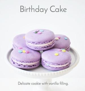Bake Sale Toronto Online Birthday Cake Macarons