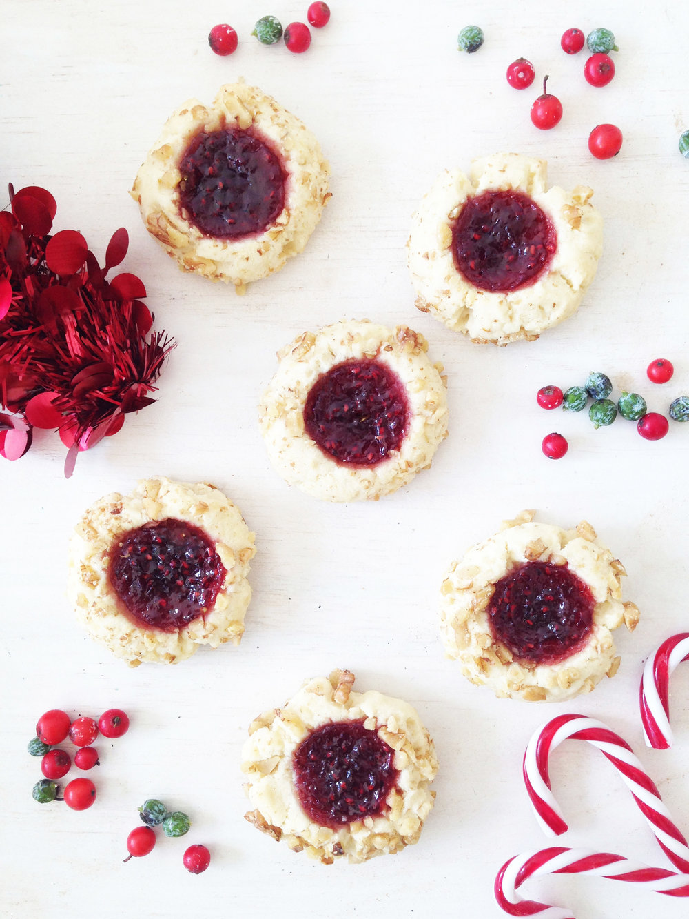 Jam Thumbprint Cookie $1.70