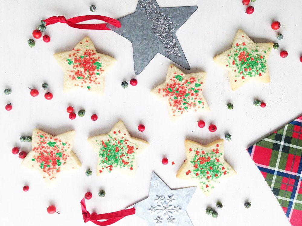 Star Shortbread Cookie $1.30