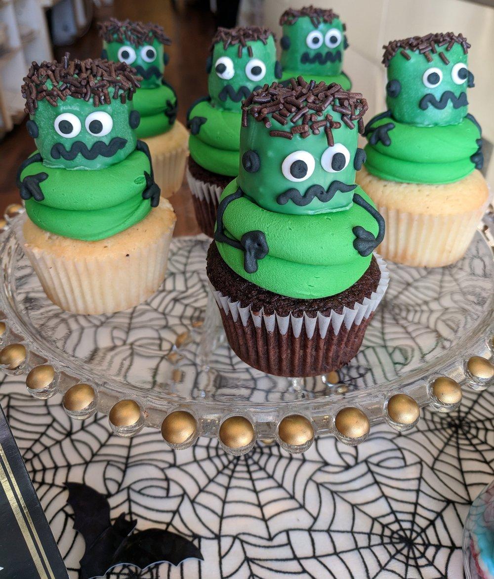 Frankenstein Cupcake $4.25