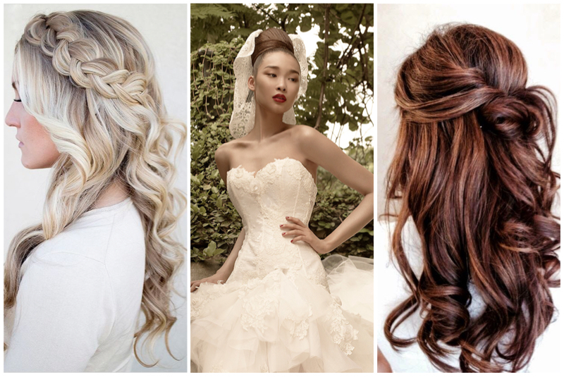 Photos:  Hair and Makeup by Steph  via  The Wedding Chicks  | St. Pucchi 9453 |  A Cup of Jo