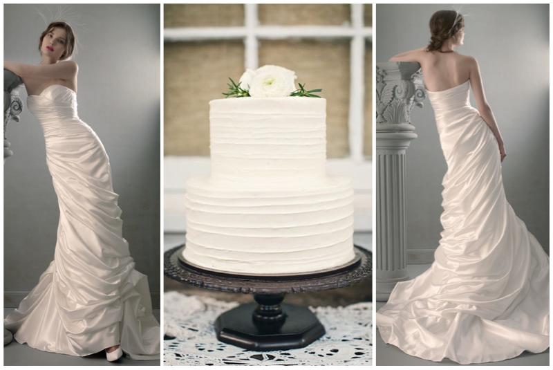 Dress: St. Pucchi 720. Cake.
