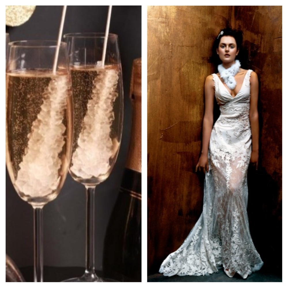 Champagne toast ;  St. Pucchi 9348