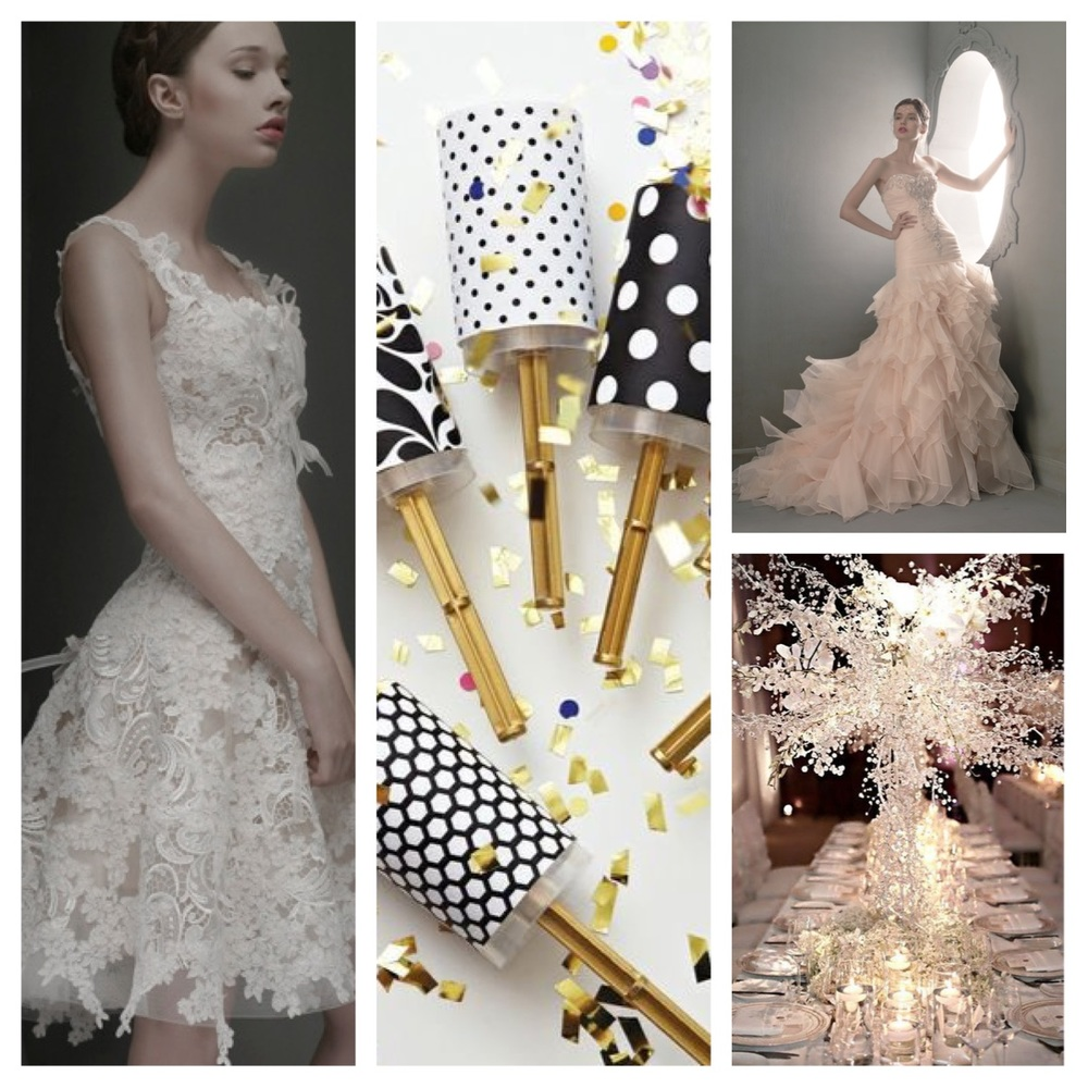 St.Pucchi Z350; Confetti Poppers; St. Pucchi 719; Chandelier Center Piece