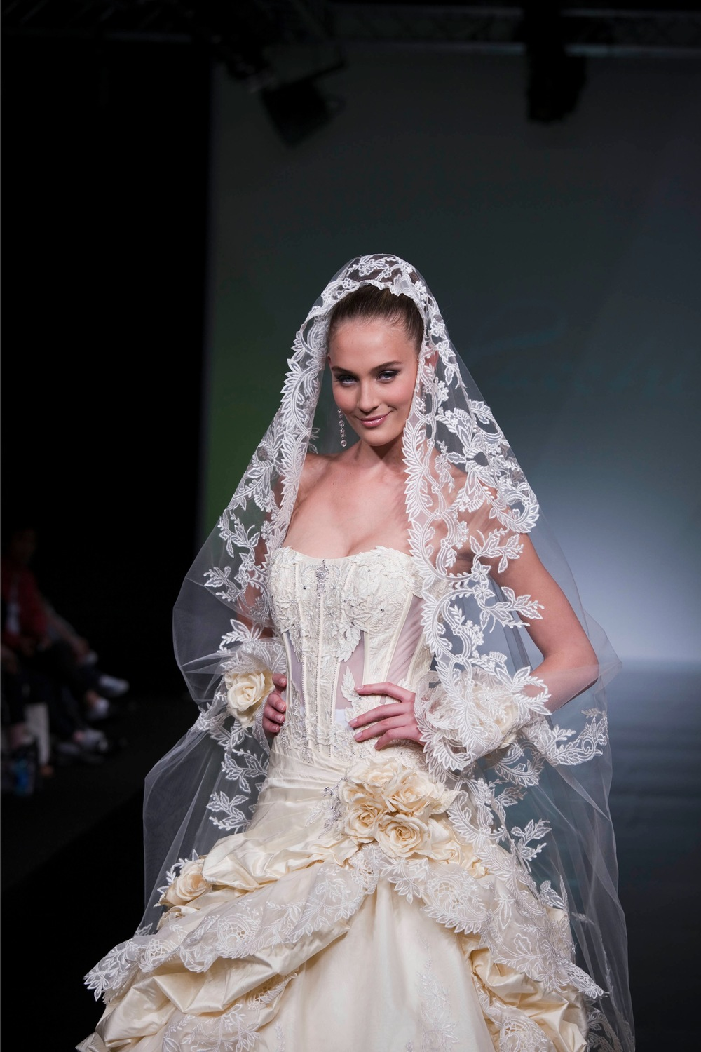 St pucchistunning untraditional wedding veils for Wedding dresses and veils