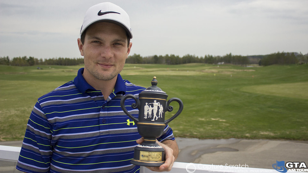 Champion Flight winner John Harrington