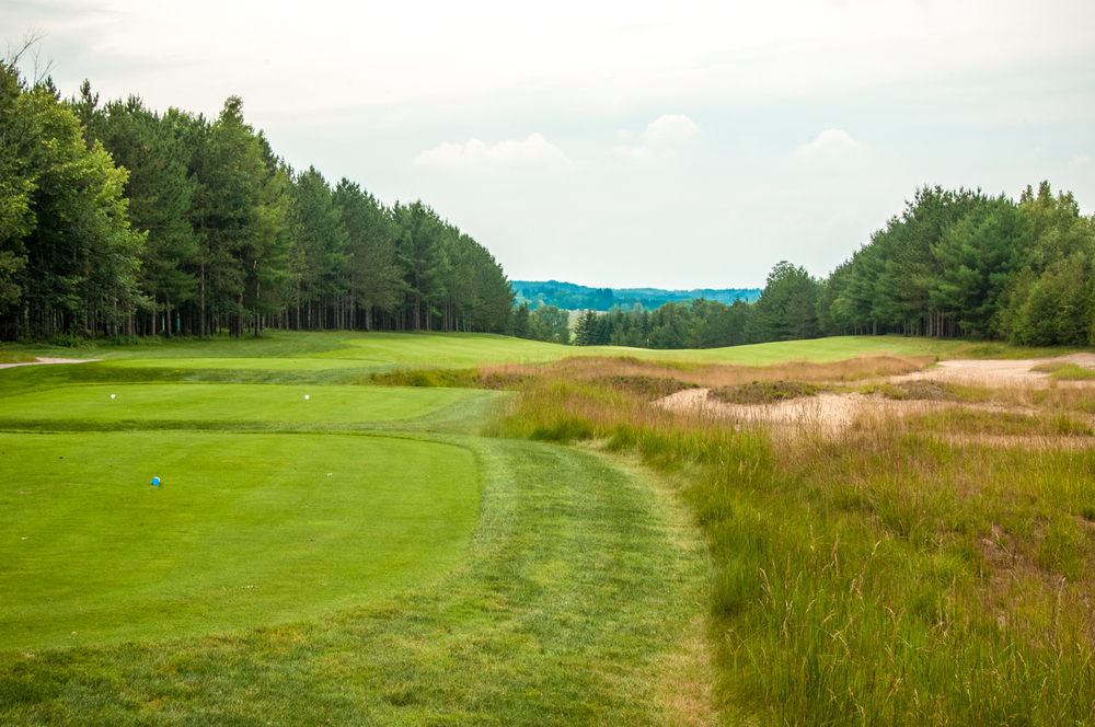 Take a moment to enjoy the view from the #9 tees