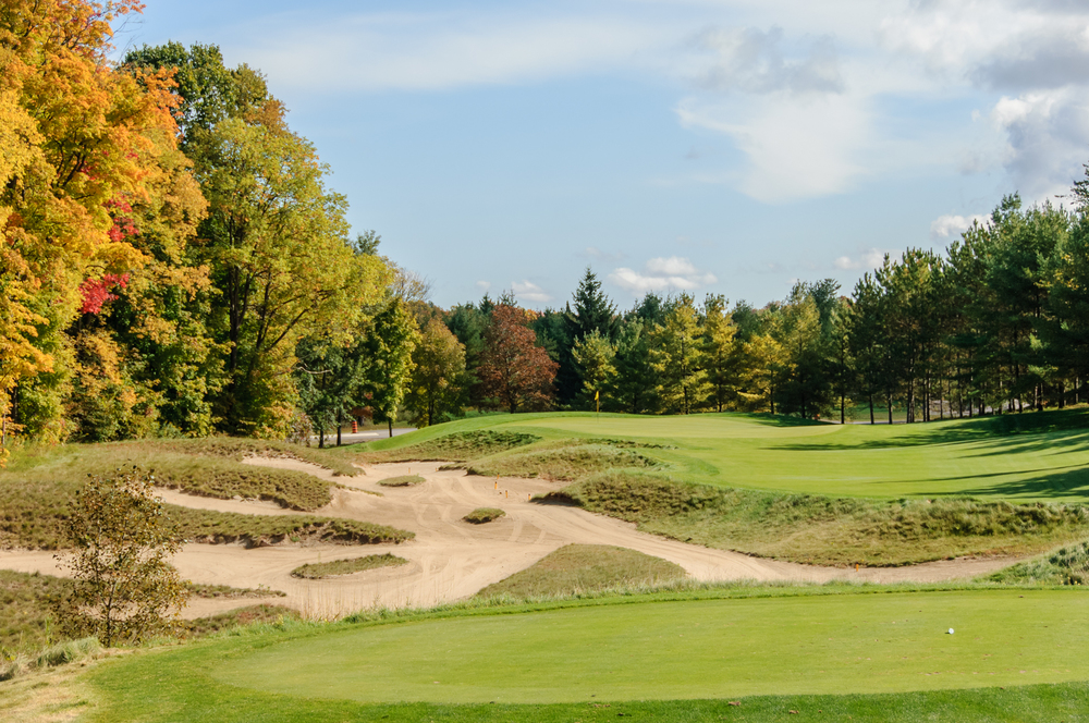 One of Hoot's incomparable waste bunkers alongside #10