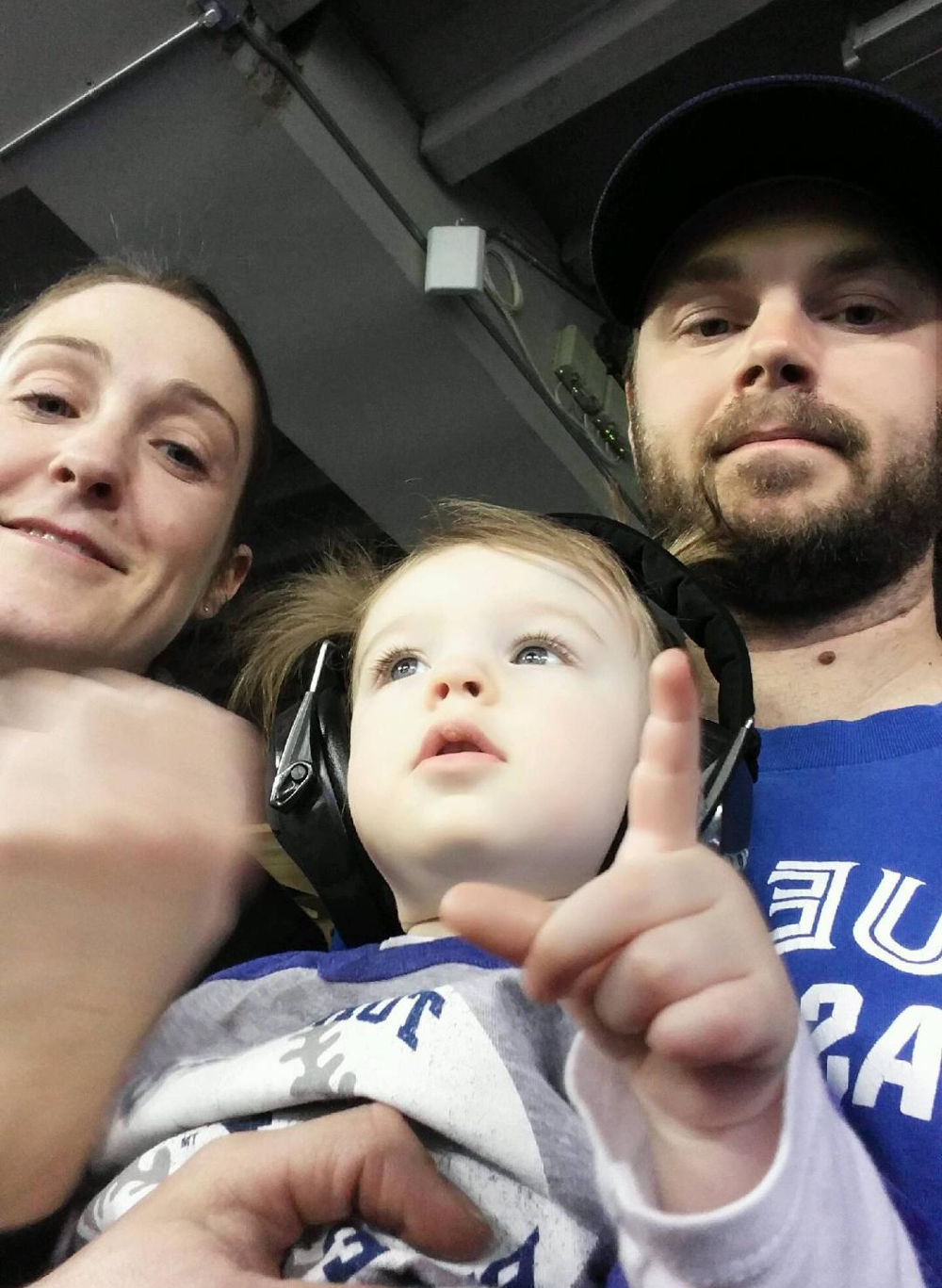 Family day at the Jays game