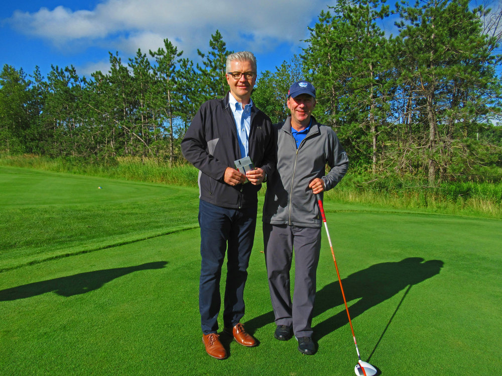 Osprey Valley Golf GM introduced course designer Doug Carrick.