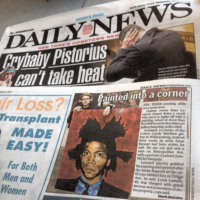 And The Daily News.