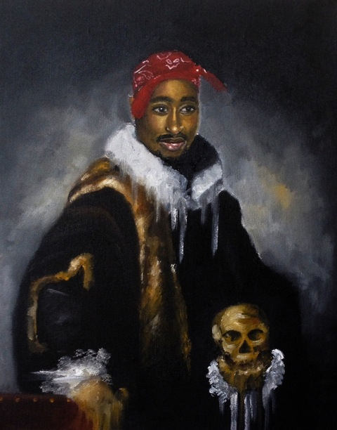 PAC WITH HIS SKULL PT.II