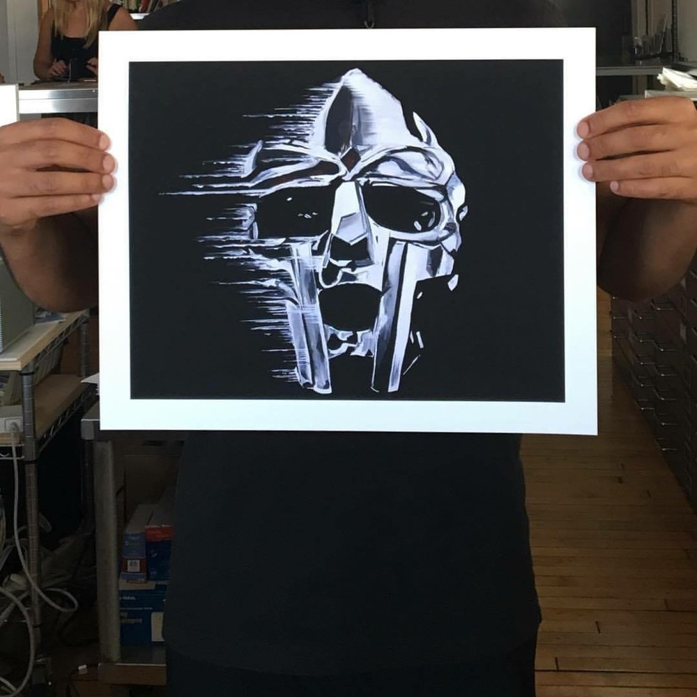 MF DOOM SHOW YOURSELF PRINT