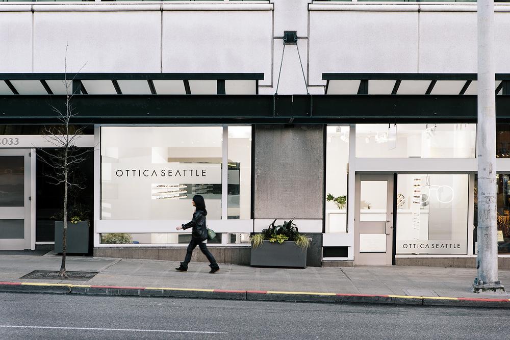 Ottica Seattle Optical Frame, Eyeglasses, Sunglasses storefront