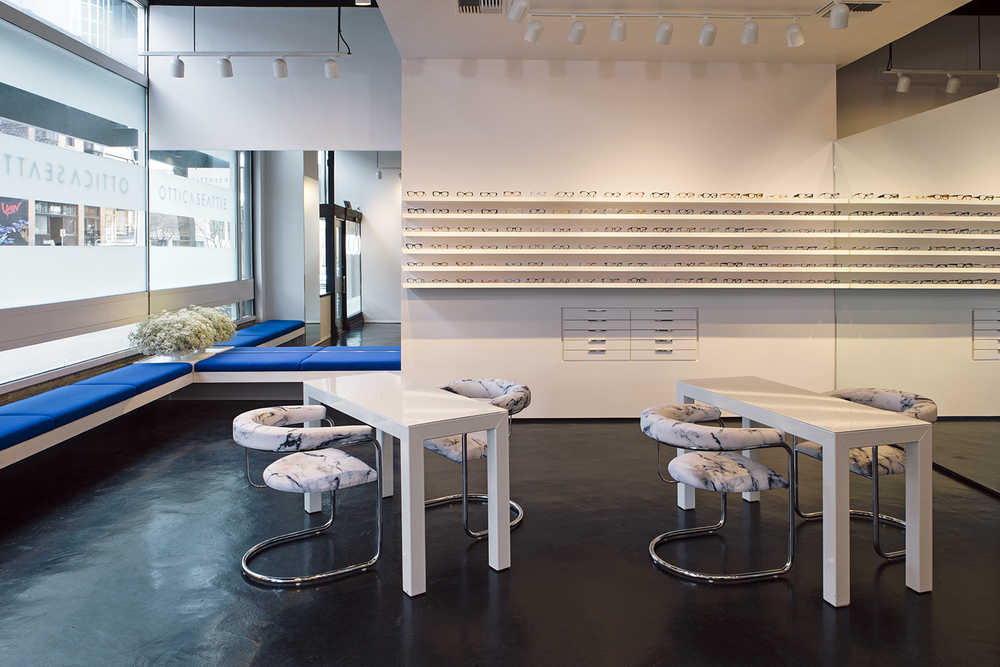 Ottica Seattle optical frame and eyeglass showroom