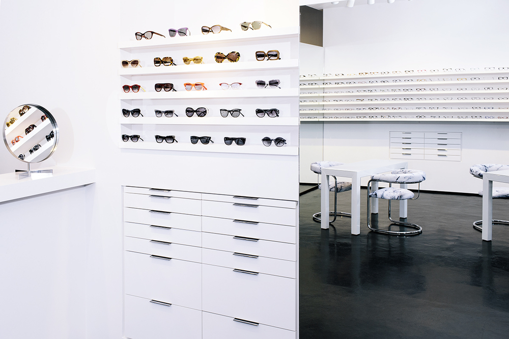 Ottica Seattle eyeglass & optical frame showroom