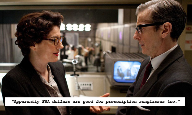 Lix Storm (Anna Chancellor) and Randall Brown (Peter Capaldi) in the BBC's addictive miniseries,  The Hour.
